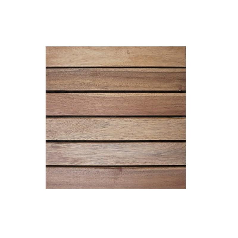 Piastrelle pavimento da esterni in legno 5 pz brico casa for Pavimento esterno brico casa