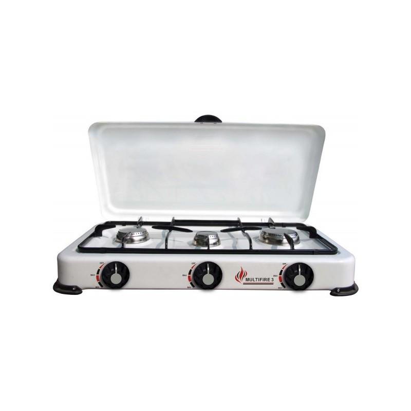 fornello cucina cucinino a gas 3 fuochi per casa campeggio
