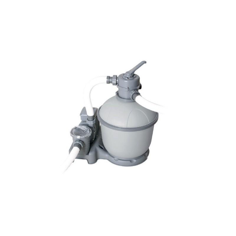 Pompa filtrante a sabbia per piscine bestway capacita 39 5 for Pompe filtrante