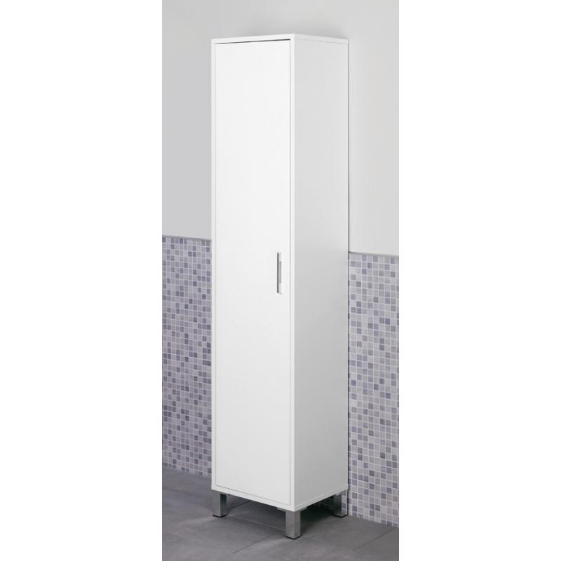 mobile da bagno moderno colonna armadio portascopa