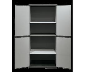 Mongardi 7811C04 - Mobile armadio 4 ripiani in resina 68x39,5x168h