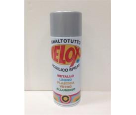 Bomboletta spray grigio alluminio protettivo vernice smalto 400 ml