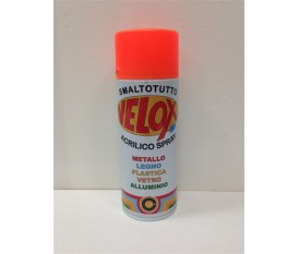 Vernice spray arancione fluorescente smalto bomboletta 400 ml