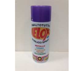 Bomboletta spray viola metallizzato vernice smalto 400 ml