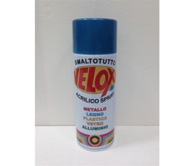 Bomboletta spray blu metallizzato vernice smalto 400 ml