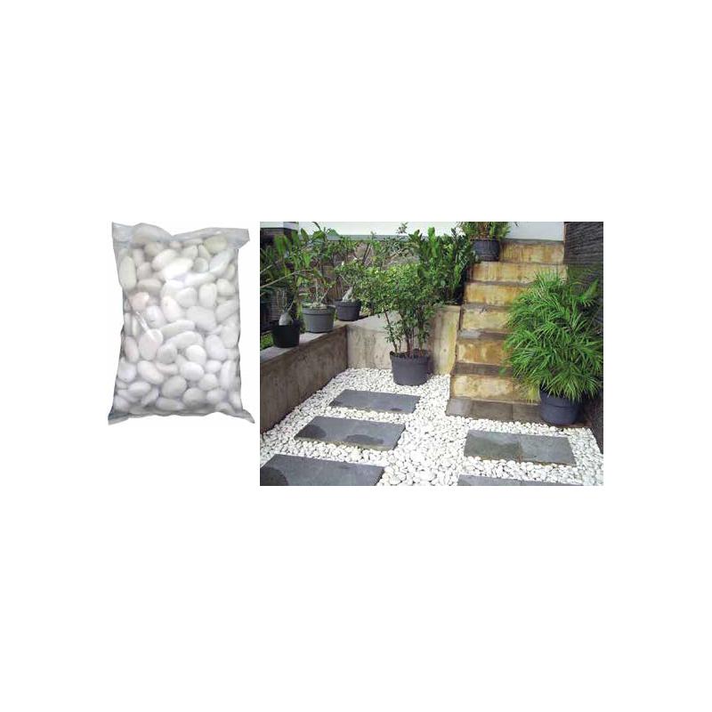 Ciottoli levigati da giardino arredo esterni 10 kg brico for Arredo da esterni
