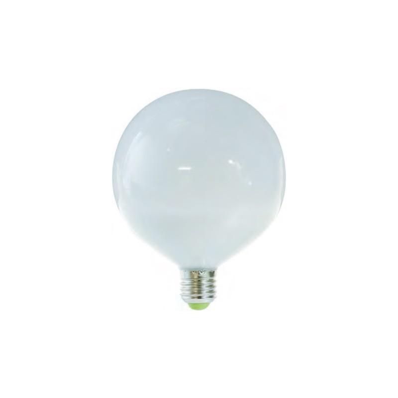 Lampada globo a led luce fredda e27 16w 6500k a brico casa for Lampada globo