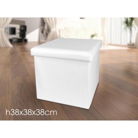 Awesome pouf ecopelle bianco gallery for Miceli arredamenti nissoria