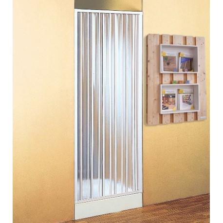 Parete porta divisoria per doccia a soffietto brico casa for Porte a soffietto brico