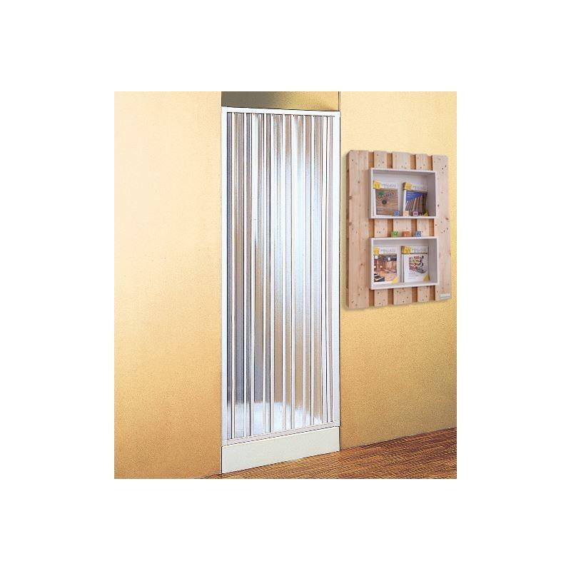 Parete porta divisoria 90 100 cm per doccia a soffietto - Porta a soffietto per doccia ...