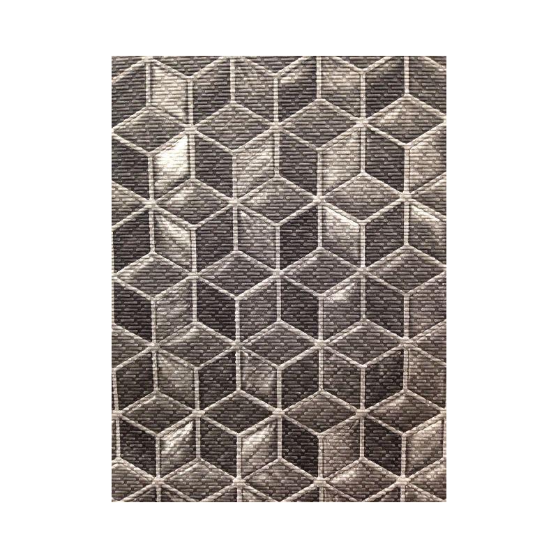 Tappeto con cubi geometrici al taglio al metro antiscivolo - Tappeto esterno ...