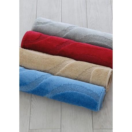 Tappeto bagno morbido 50x 80 beige grigio rosso blue brico casa - Tappeto bagno rosso ...