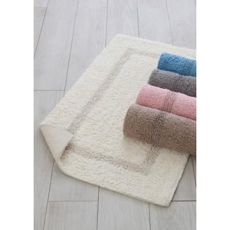 Tappeto da bagno in cotone con antiscivolo 50x80 cm - Tappeto antiscivolo vasca da bagno ...
