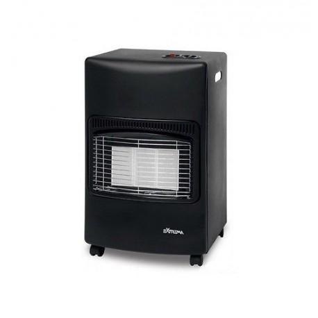 Stufa stufe a gas infrarossi nera 4200 w brico casa - Stufe a olio elettriche ...