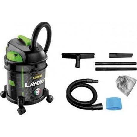 Bidone aspiratutto aspirapolvere per solidi e liquidi in abs 20lt 1200 w brico casa - Aspirapolvere per piscina ...
