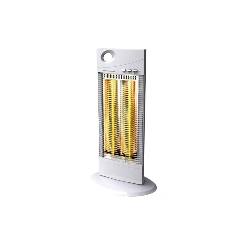 Caldobagno riscaldamento stufa carbonio oscillante 1000 w brico casa - Stufe a olio elettriche ...