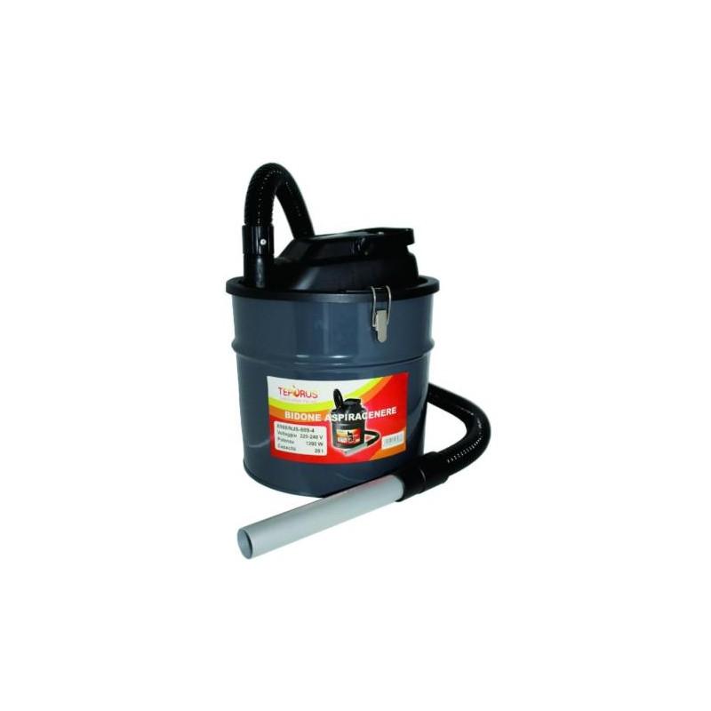 Bidone aspiracenere stufe camino pellet in metallo 20 lt brico casa - Stufe a olio elettriche ...