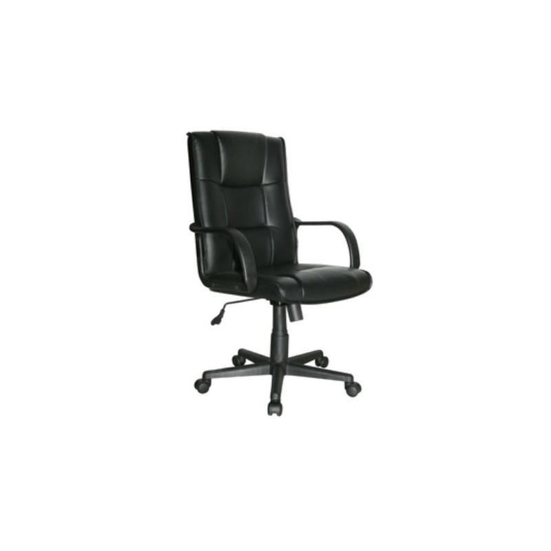 poltrona sedia da ufficio direzionale girevole nera On sedia ufficio direzionale