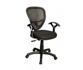 Sedia da scrivania con schienale traspirante antisudore