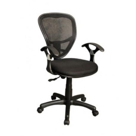 Sedia nera cheap sedia nera guariche with sedia nera for Sedia ufficio gialla