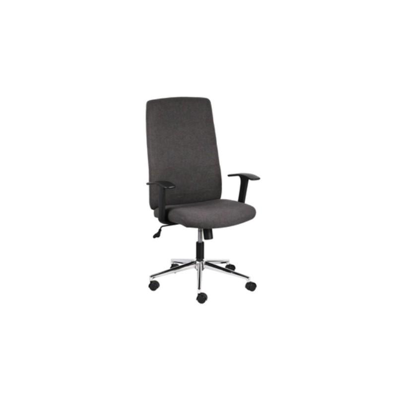 Poltrona sedia da ufficio direzionale girevole grigio for Sedia ufficio direzionale