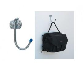 Gancio a muro a C appendi borse, attrezzature lavoro sportive 105 kg