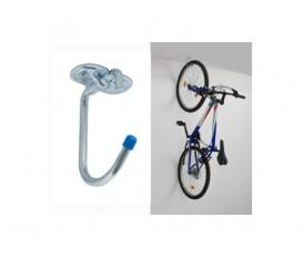 Gancio in acciaio per appendere biciclette e attrezzature 160 kg