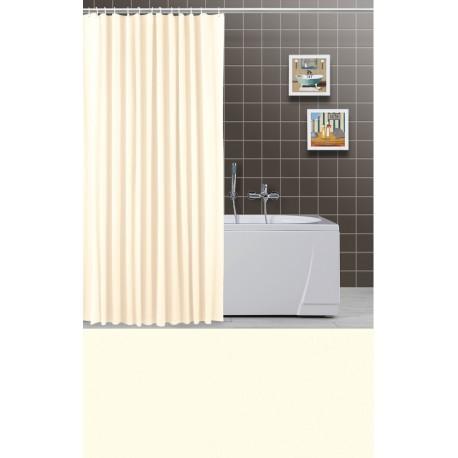 Tenda per doccia beige chiaro vasca a da bagno brico casa - Tenda per vasca da bagno ...