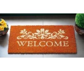 Zerbino classico con scritta Welcome
