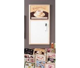 Lavagna magnetica vintage Cappuccino