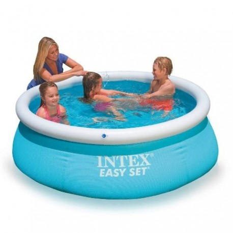 Intex easy set 183x51 piscina gonfiabile tonda brico casa for Piscina intex easy set