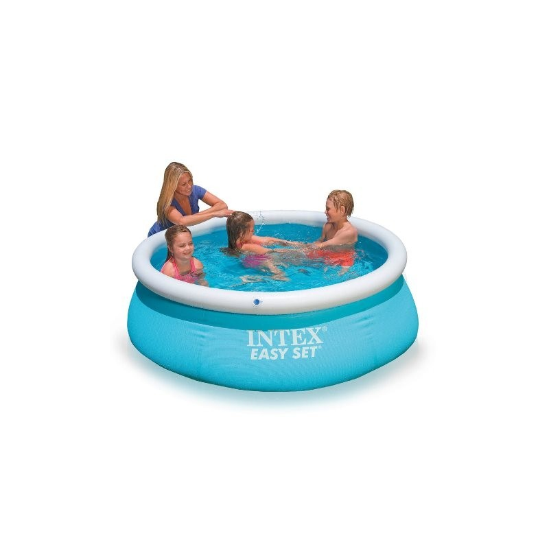 Intex easy set 183x51 piscina gonfiabile tonda brico casa - Intex piscina gonfiabile ...
