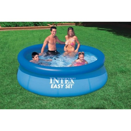Intex easy set 244x76 piscina gonfiabile tonda brico casa - Intex piscina gonfiabile ...