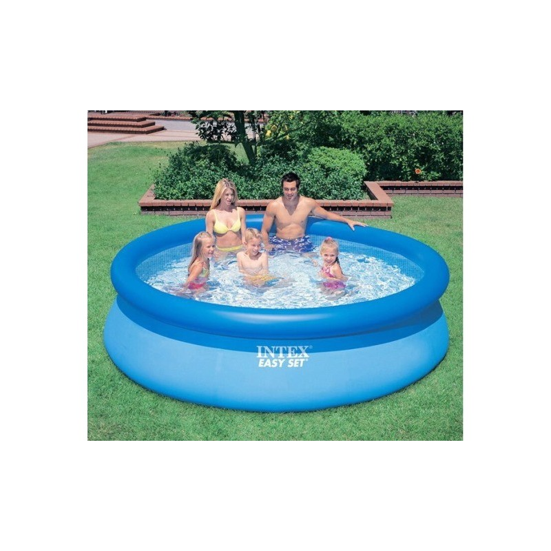 Intex easy set 305x76 piscina gonfiabile autoportante brico casa - Intex piscina gonfiabile ...