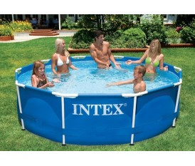 Intex Easy Get/Set 305x76 - Piscina con telaio fuori terra
