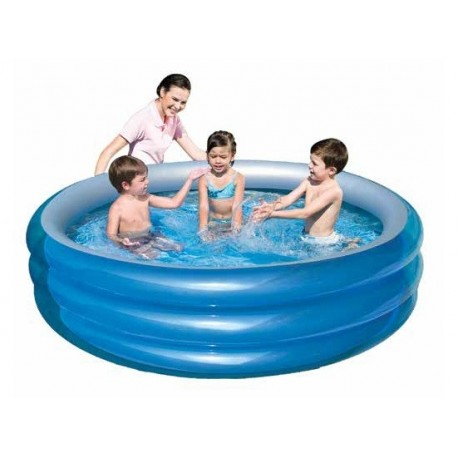 Piscina piscine gonfiabili da giardino in 3 tubi 201x53h brico casa - Piscine gonfiabili da giardino ...