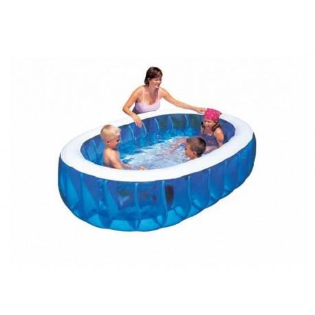 piscina gonfiabile ovale 2 metri x 1 bambini brico casa