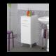 Mobiletto bagno 30-40 cm legno bianco – Feridras