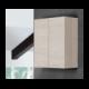 Mobile bagno pensile due ante 60 cm Bianco Rovere - Feridras
