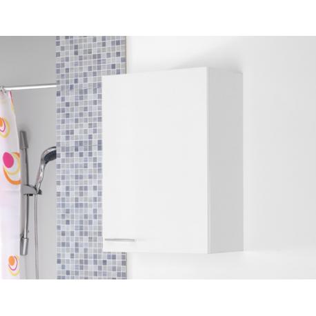 Pensile bianco 50 cm bagno moderno feridras brico casa - Pensile bagno bianco ...