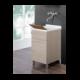 Lavatoio con mobiletto 45x50 cm lavabo - Feridras