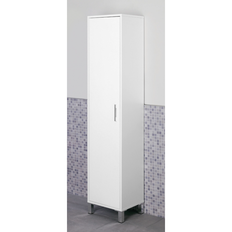 Mobile da bagno moderno colonna armadio portascopa brico for Mobile bagno colonna