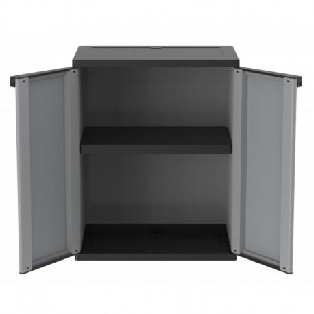 Armadio basso in resina da esterni o garage 68x37x85h for Coprilavatrice da esterno brico