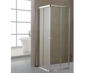 Box doccia in cristallo 6 mm 70x70 - 70x90 - 80x80 - alluminio trasparente