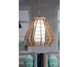LAMPADA A SOSPENSIONE SOFFITTO IN LEGNO WOODY 34XH32 CM