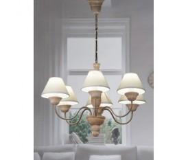 LAMPADARIO LAMPADA DA SOFFITTO 6 BRACCI 67XH94 CM