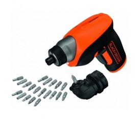AVVITATORE TRAPANO A BATTERIA BLACK&DECKER CS3652LC A LITIO