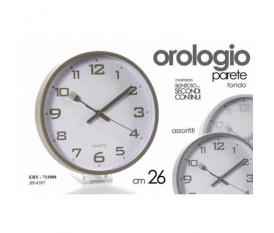 OROLOGIO A PARETE MURO TONDO 26CM