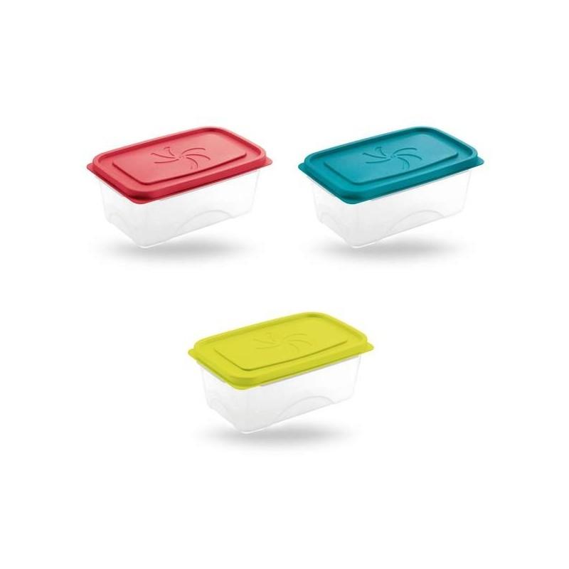 Brico Contenitori In Plastica.Contenitore Cucina Per Alimenti Portapranzo Aster Rettangolare
