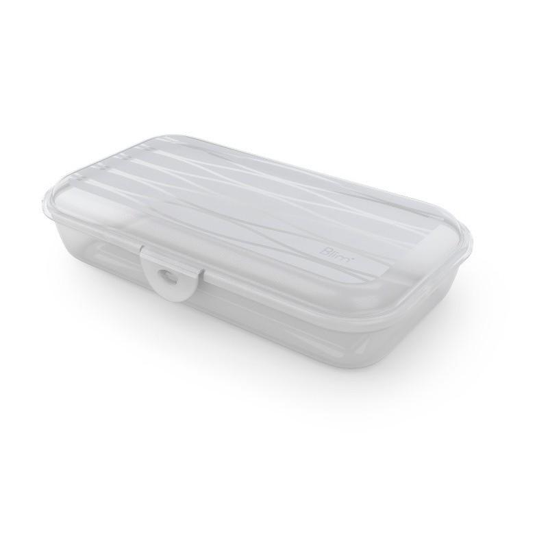 Contenitori In Plastica Brico.Contenitore Sistemazione Armadio Scatola Box 1 2 Lt 19x10x12 5 Cm